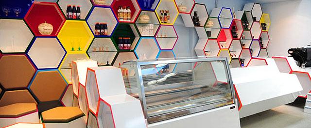 Ladenbau Berlin Eiscafé Café Restaurant